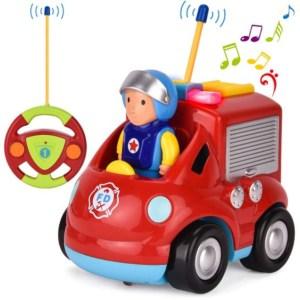 Ferngesteuertes Feuerwehrauto für Kleinkinder